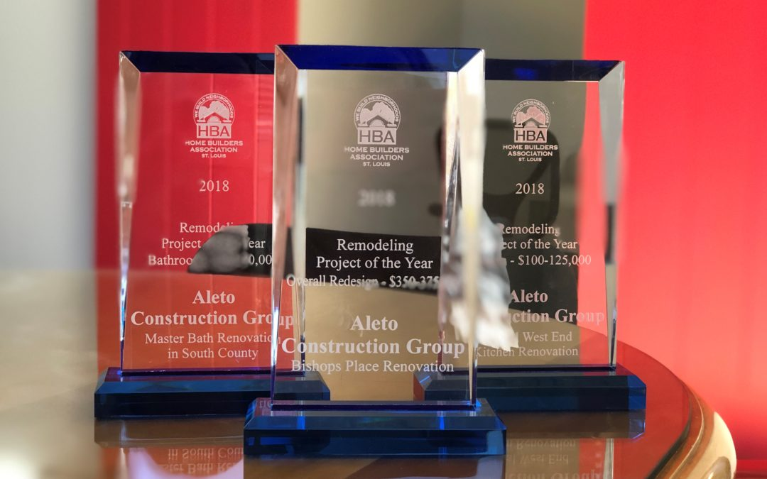 Aleto Wins Three Home Builders Association Awards
